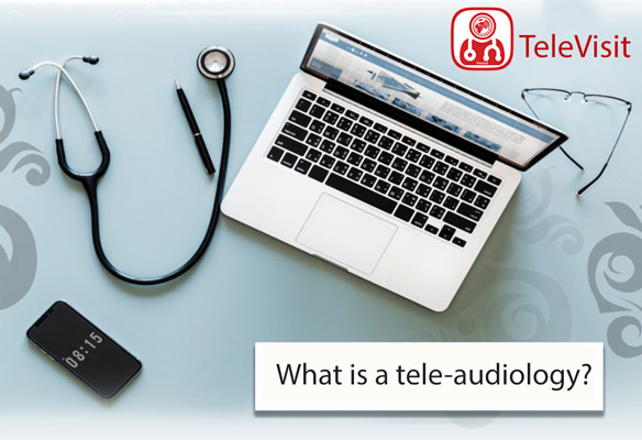 What is a tele-audiology?
